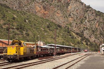 SNCF - BB 669290, Estació Vilafranca de Conflent