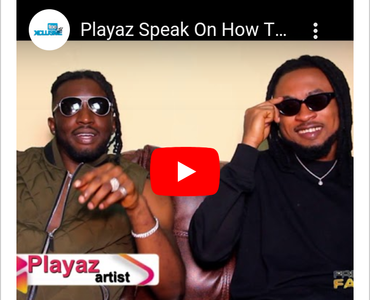 """Our EP """"Play Sound"""" Will Change The Nigerian Music Scene – Afrobeat Duo, Playaz On 'Fresh Face' #Arewapublisize"""