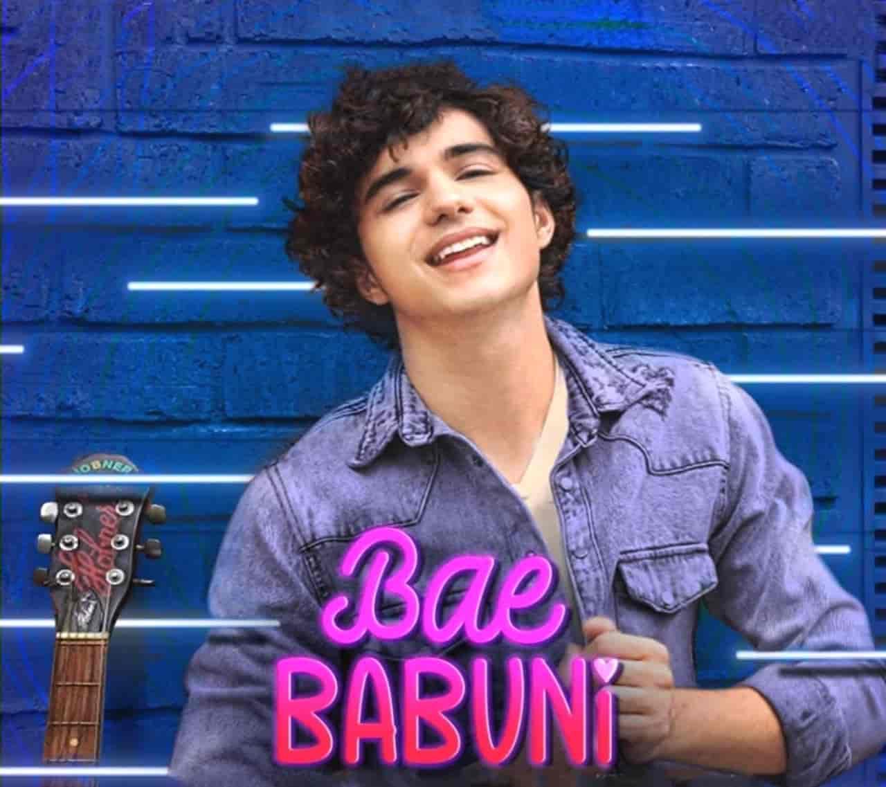 Bae Babuni Bhojpuri Song Image Features Abhay Verma Sung By Vivek Hariharan