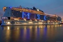 Hamburg Und Norddeutschland Taufe Der Msc Grandiosa In Hamburg