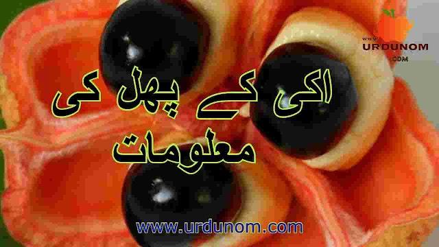 اکی کے پھل کی معلومات | ackee fruit