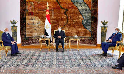 Egypt's Sisi receives Haftar