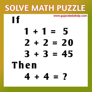Math Puzzle with Answer - Puzzle for Kids No - 16