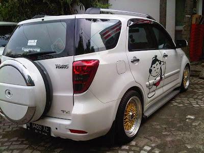 Modifikasi Mobil Daihatsu Terios Keren Konsep 2019 | Foto ...