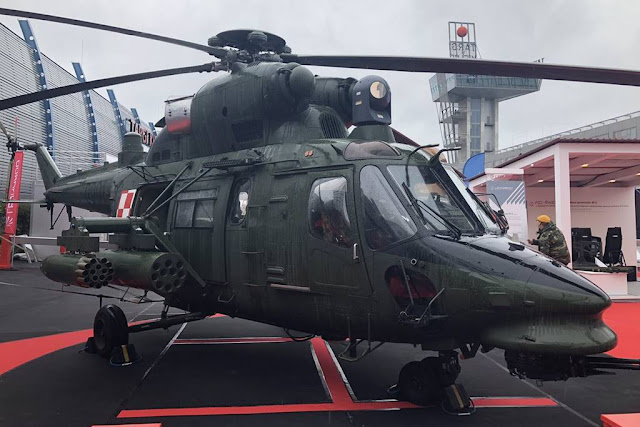 Leonardo and the Polish Armaments Group unveil next generation W-3 helicopter concept
