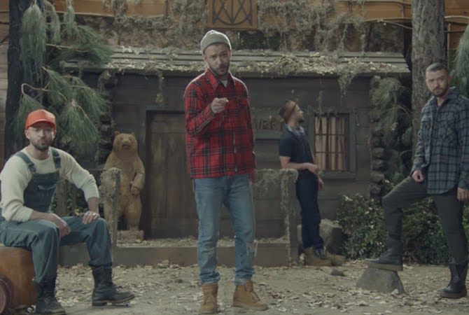 Music video: Justin Timberlake - Man of the woods | Random J Pop