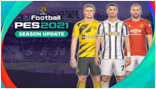 Download PES 2021 PPSSPP TM Arts Android New Latest Update Full Transfer & Best Graphics Real Faces