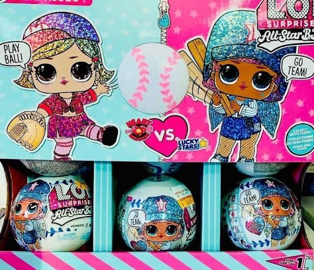 Baseball Dolls L.O.L. Surprise All-Star B.B.'s