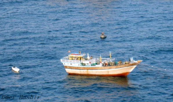 The Iranian navy alleges that Somali fish were stolen despite severe food shortages