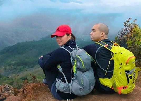 Angel Locsin Enjoys The Beauty Of Nature In Mount Costa