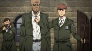 進撃の巨人アニメ第4期73話 暴悪   Attack on Titan The Final Season Episode 73