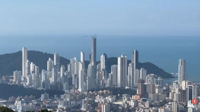 Skyline Balneário Camboriú