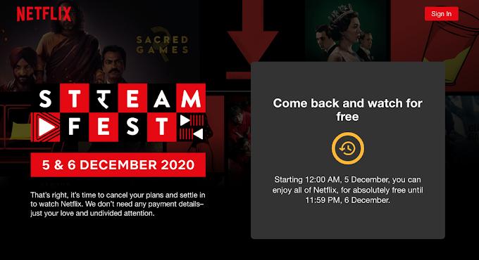 Free Netflix : नेटफ्लिक्स देखें बिलकुल मुफ्त