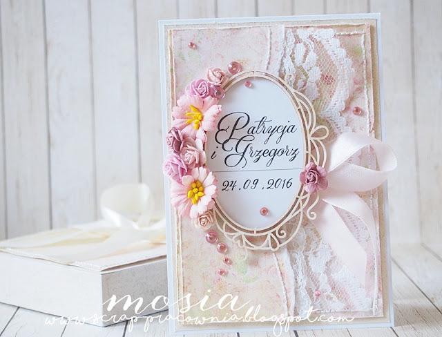 komplet ślubny wrześniowy / a September wedding set