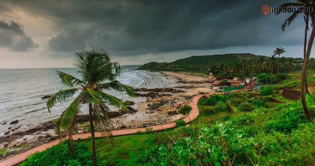 Magical beach at Goa India