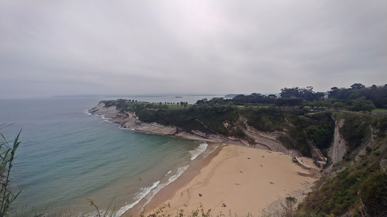 Playa de Matalenas dzikie plaże w Santander