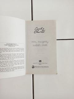 Jual Buku Bekas Mrs. Mcginty's Dead