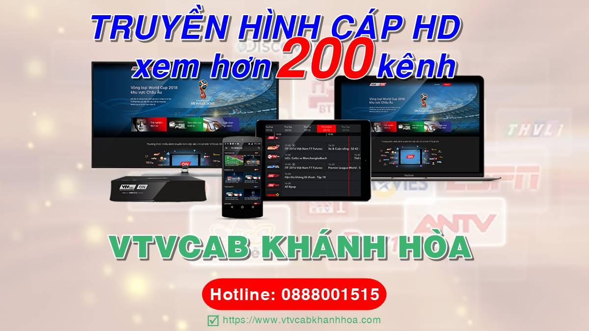 Đơn vị lắp truyền hình cáp VTVcab tại Khánh Hòa