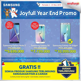 Joyful Year End Promo Untuk 3 Samsung Galaxy