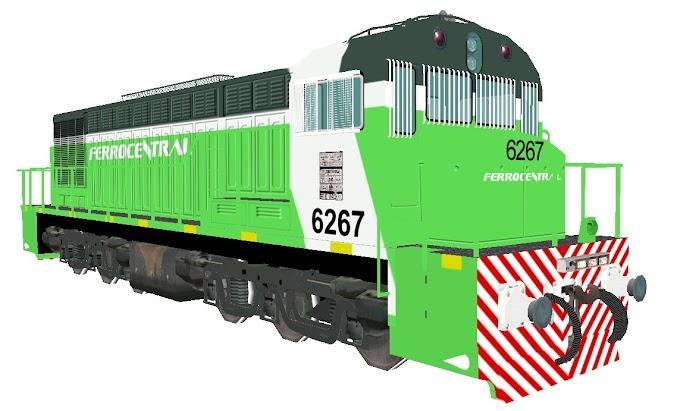 GAIA 1350hp 6267 Ferrocentral
