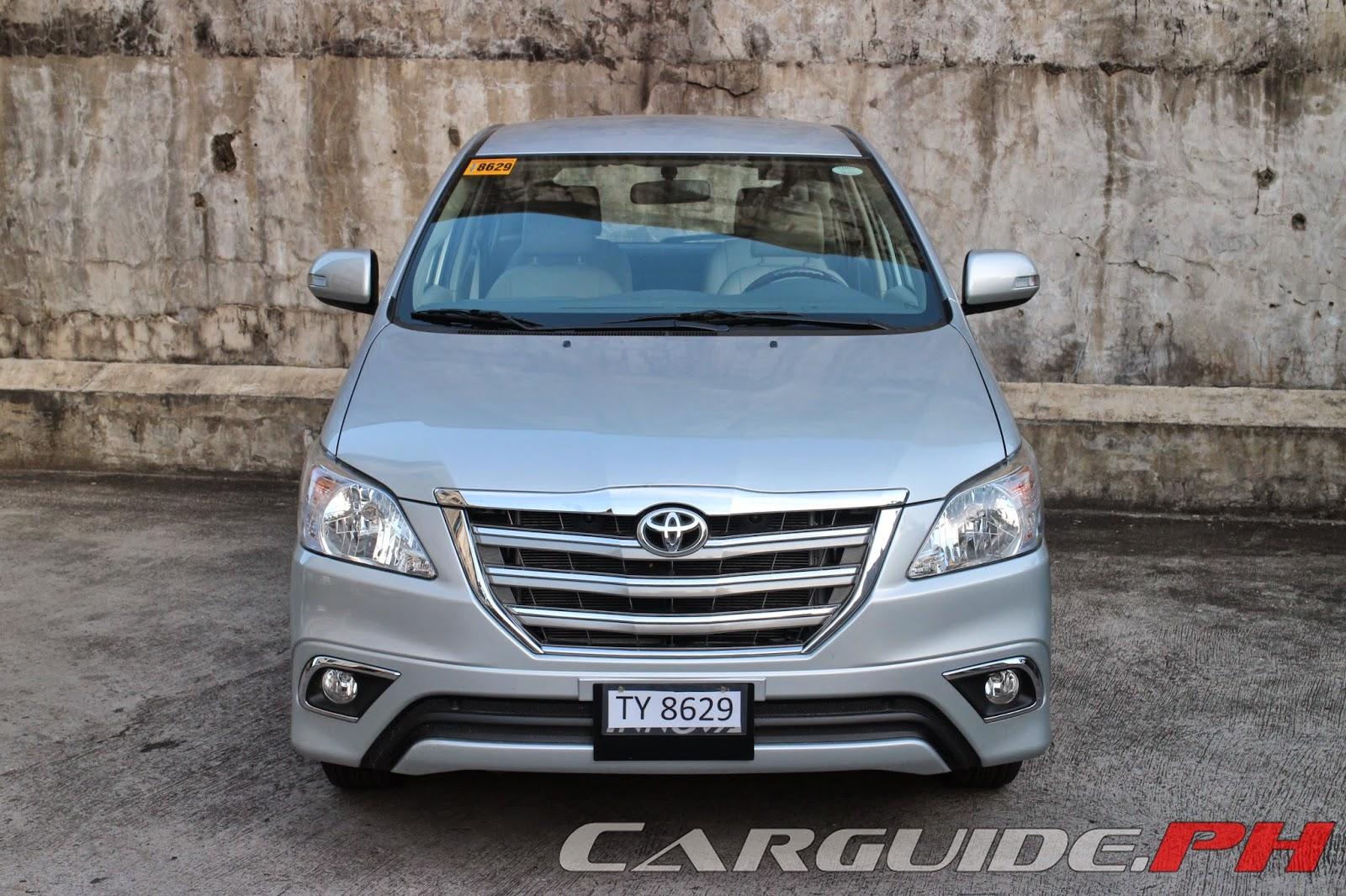 review: 2014 toyota innova 2.5 v   philippine car news, car