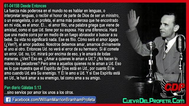 La fuerza más poderosa en el mundo - William Branham en Español