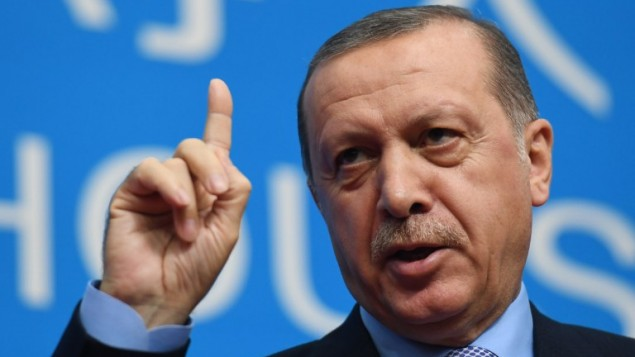 "O Erdogan ""απασφάλισε"""