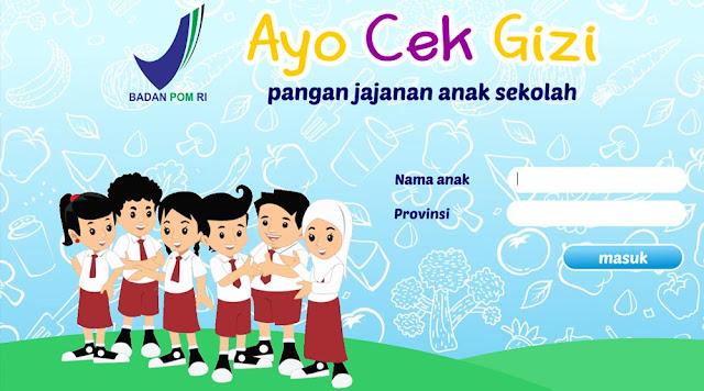 Ayo Cek Gizi : Aplikasi Keren untuk Cek Kandungan Jajanan Anak Sekolah