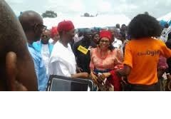 Okowa, Others Storm Alor, As Ngige Buries Father