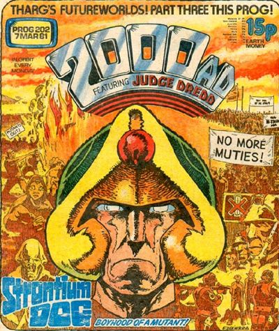 2000 AD Prog 202, Johnny Alpha