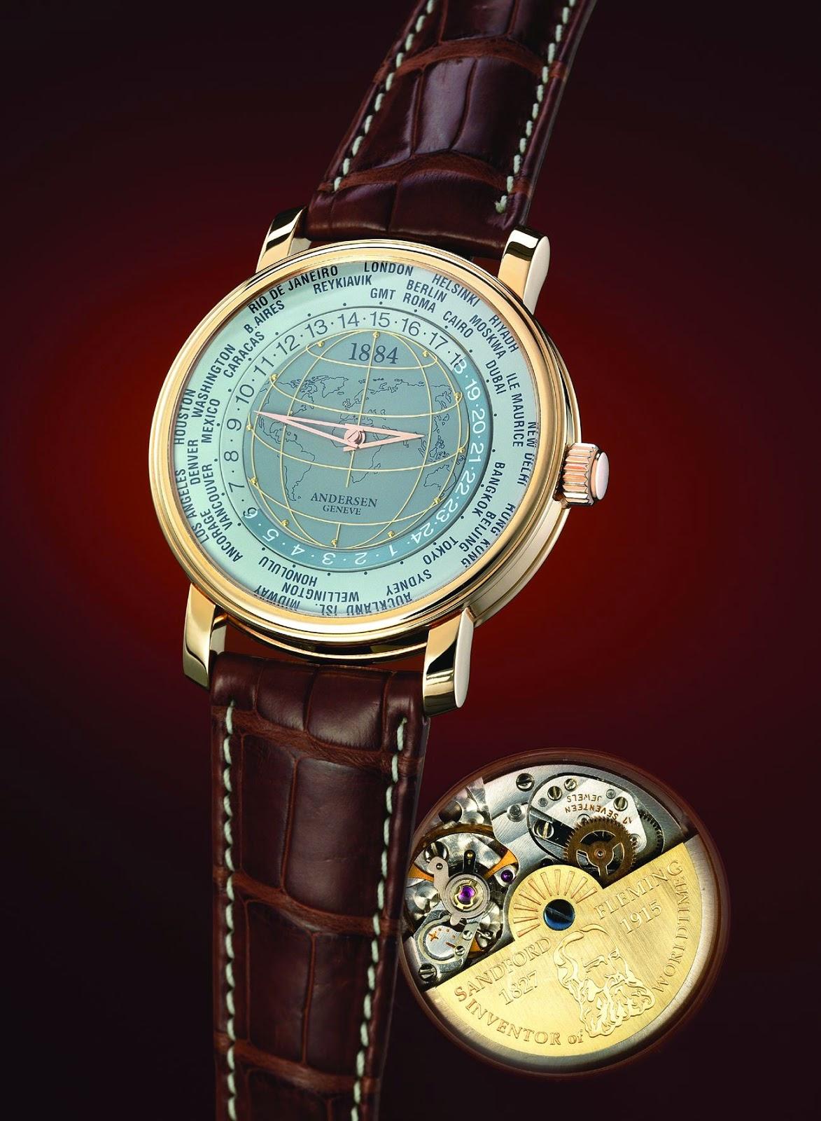 Anderesen Geneve 1884 World Time Watch (2004)