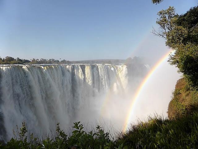 Cataratas Victoria, arco iris
