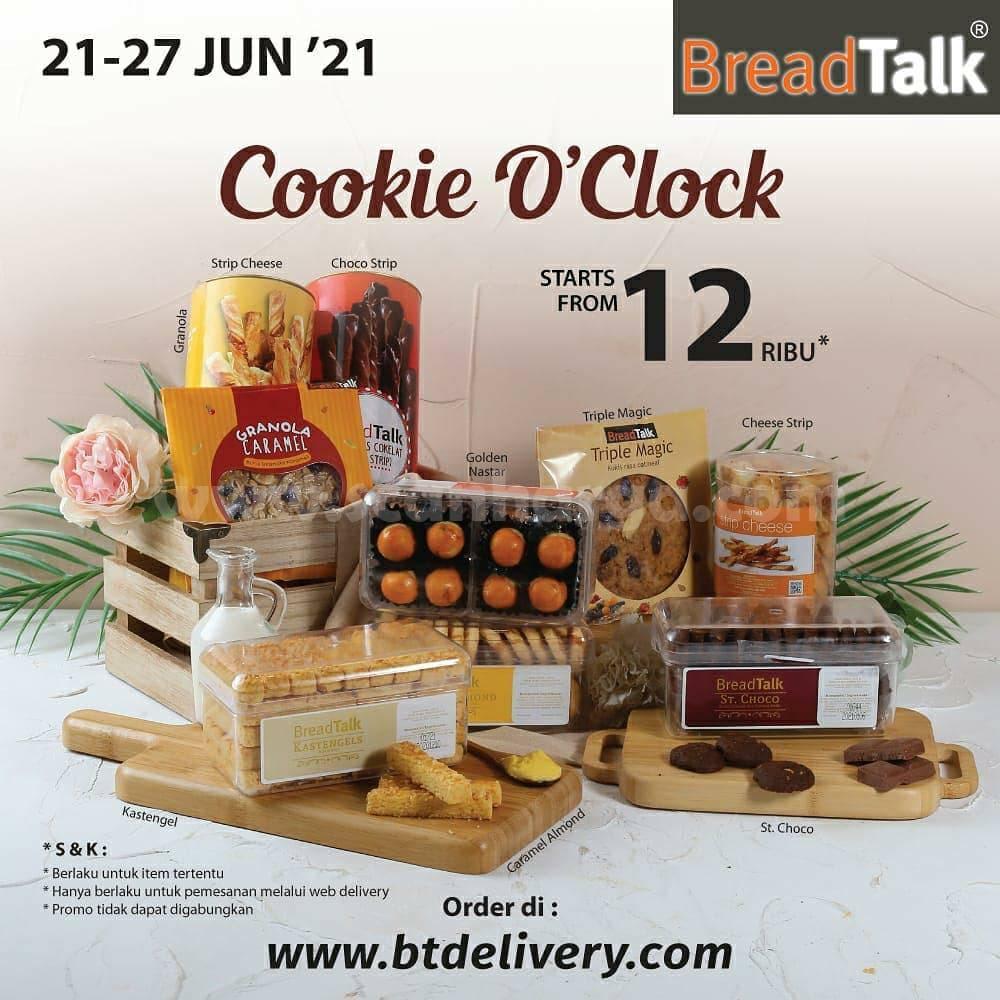 Breadtalk Cookie O'clock - mulai Rp. 12 RIBU