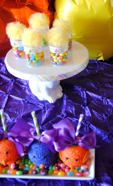 Easter treats at Fizzy Party's bright Easter party