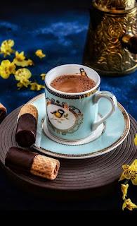 Harika Fincanda Kahve Resimleri