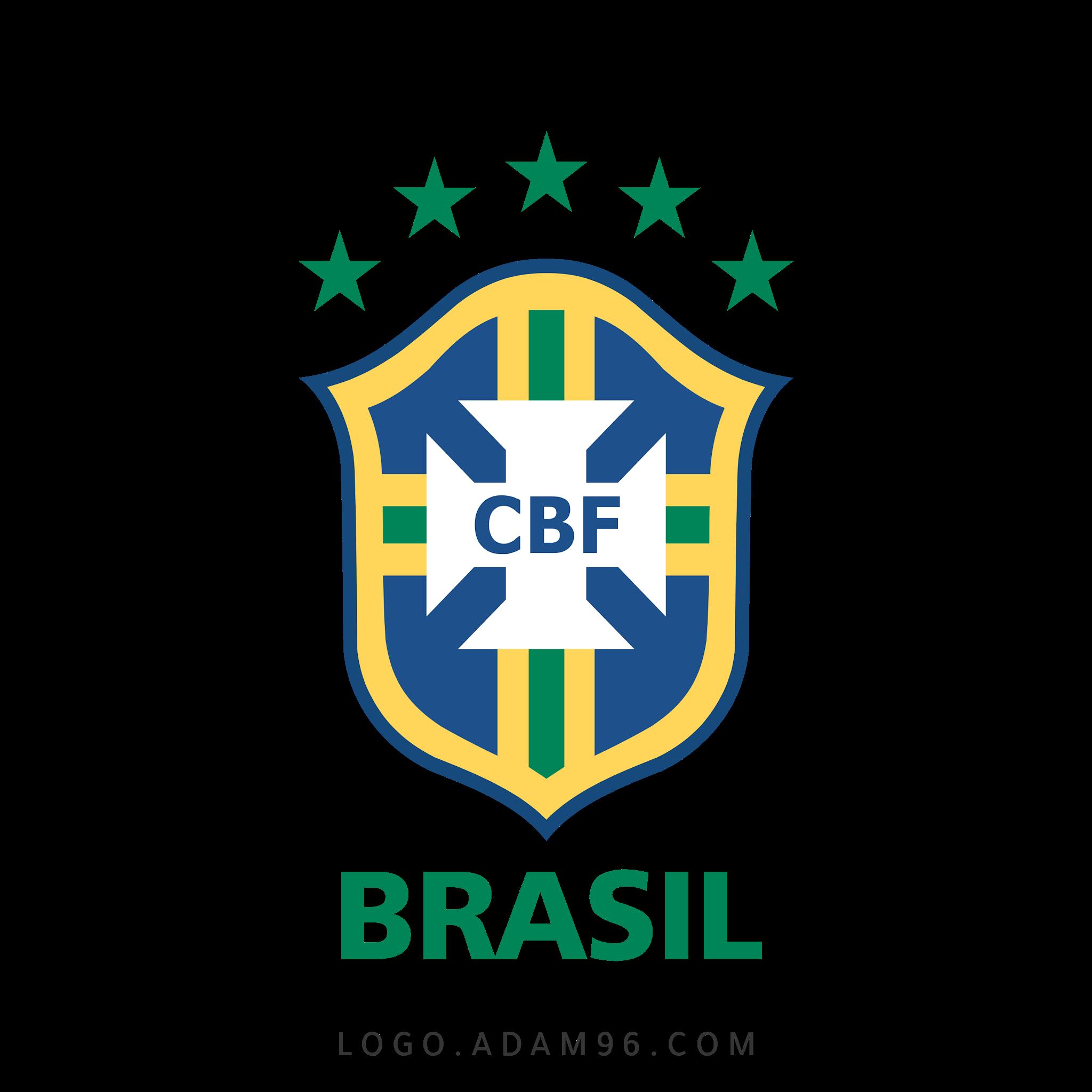تحميل شعار منتخب البرازيل لكرة القدم لوجو رسمي عالي الدقة بصيغة شفافة PNG