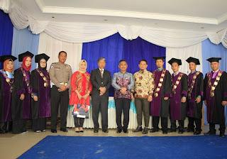 Wali Kota Menyampaikan Orasi Ilmiah Dalam Wisuda Vokasi dan Sarjana STMIK PPKIA Tarakan - Tarakan Info