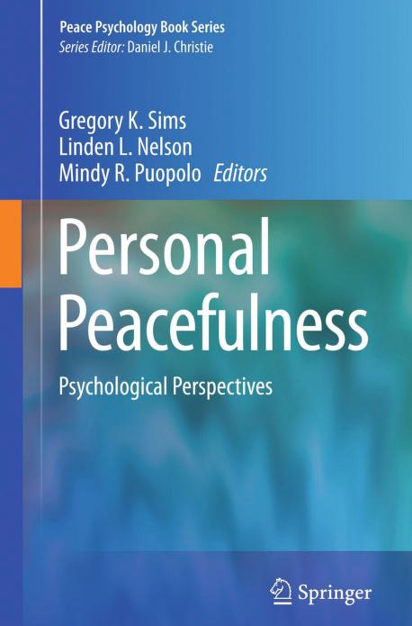 Personal Peacefulness Psychological Perspectives PDF Book