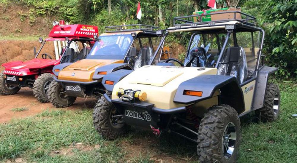 explore pangandaran dengan mobil buggy buatan indonesia fin komodo