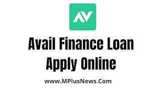 Avail Finance Loan Apply Online