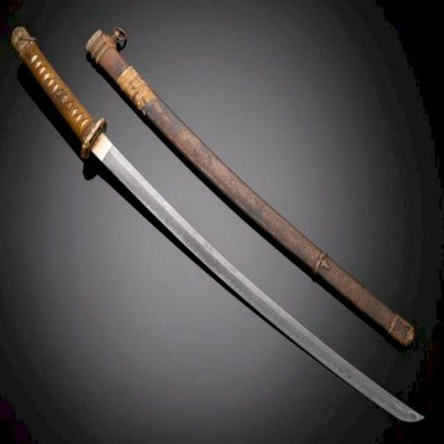 Katana merupakan pedang yang dibawa Samurai!
