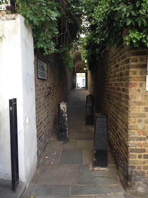 Almeida Passage, Islington, London N1