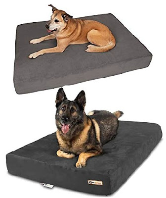 Orthopedic Dog Beds by Big Barker: High Density Mattress Foam for Pets - Provides Relief to Dogs Suffering from Joint Pains