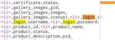 Dump Username dan Password with Dios