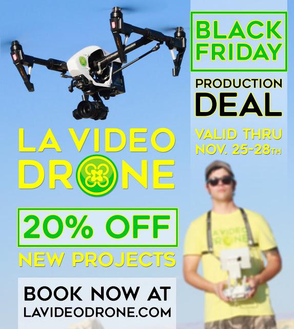 LA Video Drone Black Friday Deal