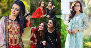 Beautiful Pictures of Sumbul Iqbal with her Sister Kompal Iqbal