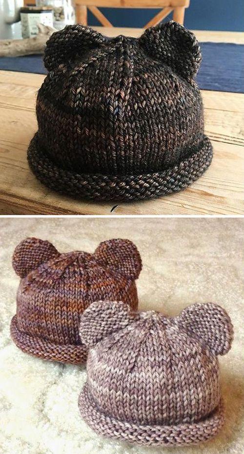 Itty Bitty Bear Cubs - Free Knitting Pattern