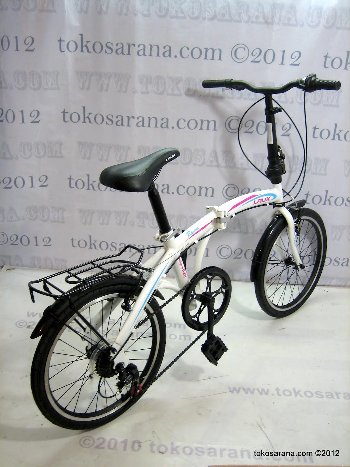 tokosarana™ | Mahasarana Sukses™: Sepeda Lipat Laux Roma 7