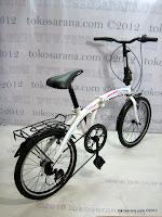 3 Sepeda Lipat Laux Roma 20 Inci - Designed in Italy