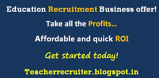 Education recruitment Business offer